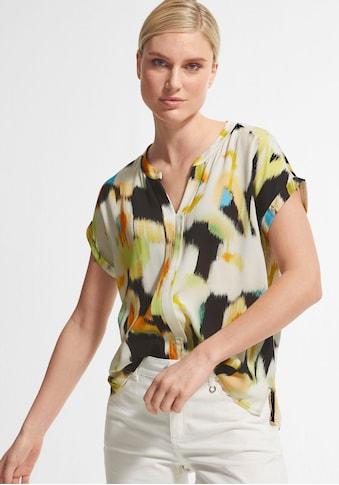 Comma Shirtbluse, mit Allover-Print kaufen