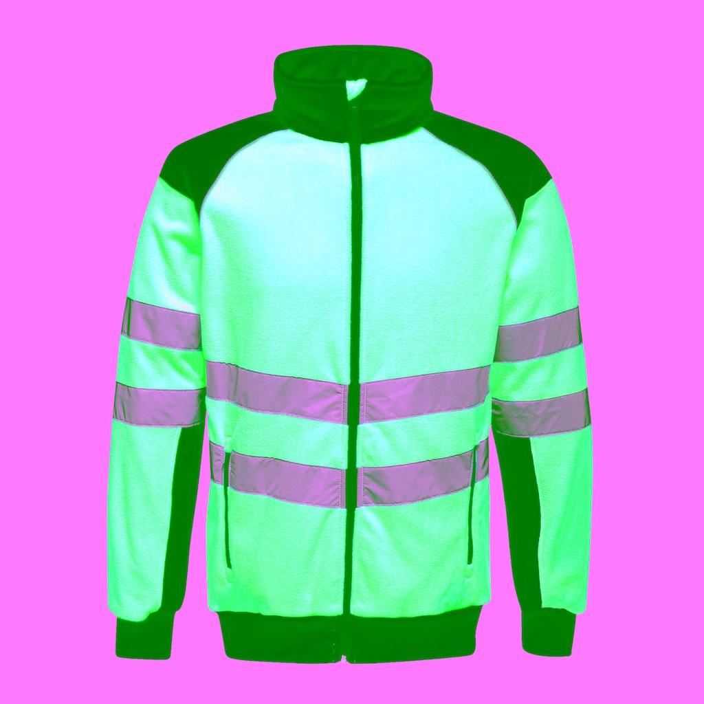Regatta Fleecejacke »Herren in Neonfarben«
