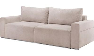 my home 3-Sitzer »Annisa«, inklusive Bettkasten und Schlaffunktion kaufen