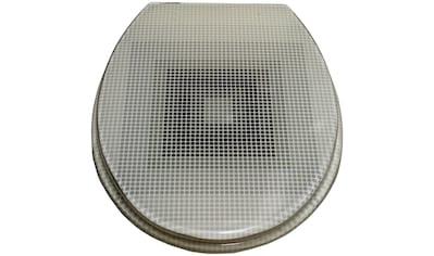 ADOB WC-Sitz »New York«, mit Metallscharnieren kaufen
