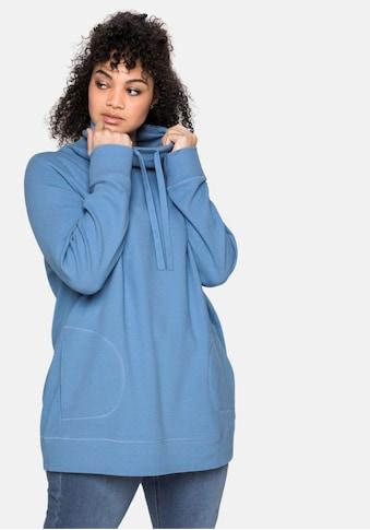 Sheego Sweatshirt, in Strukturqualität kaufen