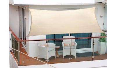 FLORACORD Sonnensegel , BxL: 270x140 cm, elfenbeinfarben kaufen