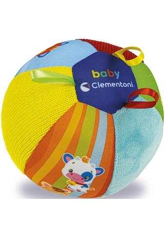 Clementoni® Greifspielzeug »Clementoni Baby - Musikfreunde Tierball«, Made in Europe kaufen