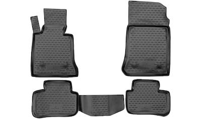 Walser Passform-Fußmatten »XTR«, Mercedes, GLK, Geländewagen, (4 St., 2 Vordermatten, 2 Rückmatten), für Mercedes-Benz GLK-Klasse (X204) BJ 2008 - 2015 kaufen