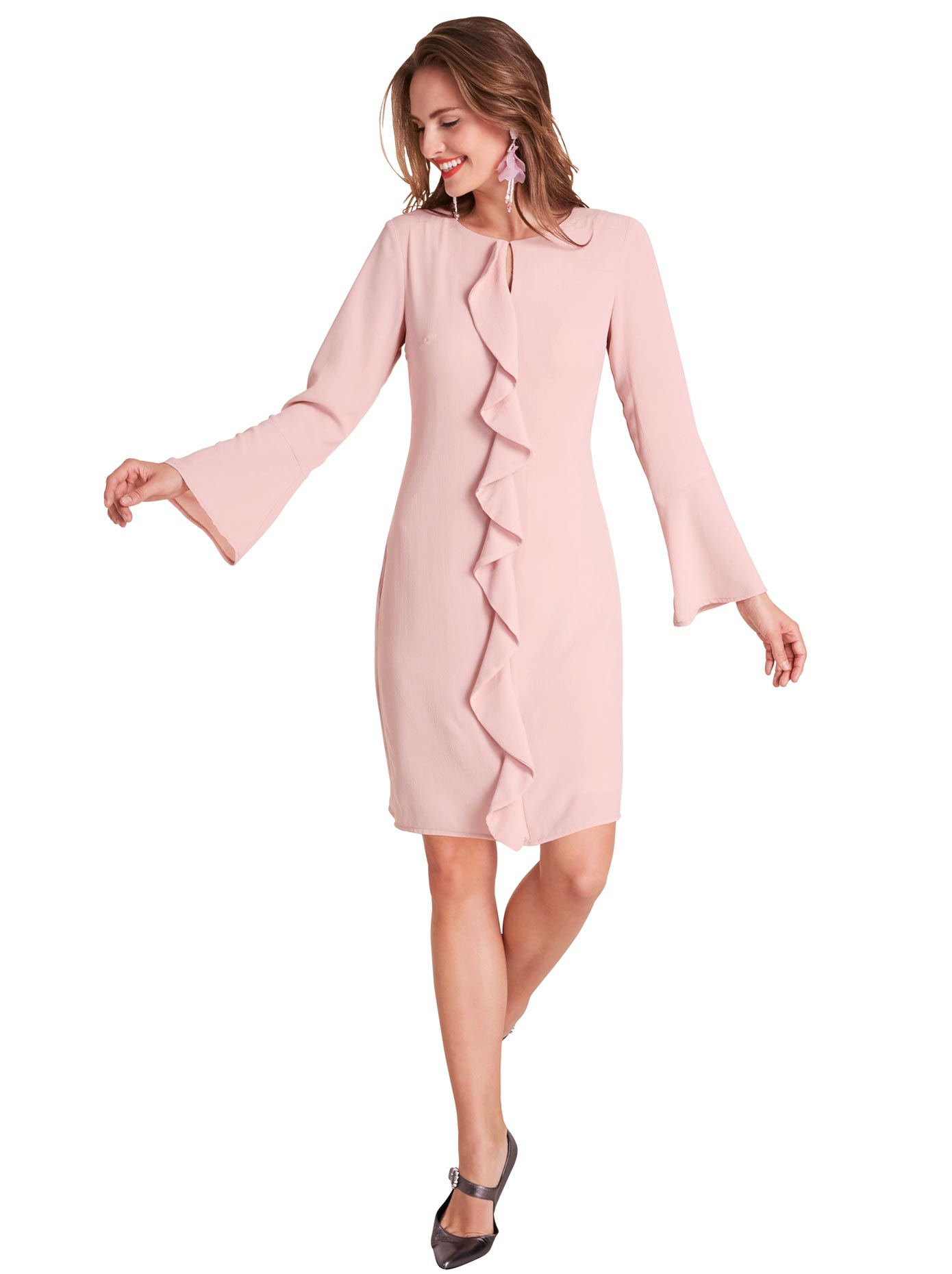 création L Kleid mit charmanter Ausstrahlung