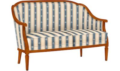 SELVA Sofa »Villa Borghese«, Modell 1375, kirschbaumfarbig kaufen