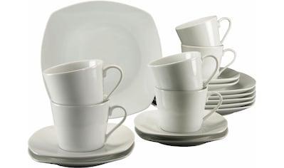 CreaTable Kaffeeservice »Amelie«, (Set, 18 tlg.), Mikrowellengeeignet kaufen