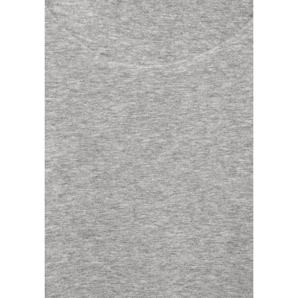 STREET ONE 3/4-Arm-Shirt »Pania«, aus meliertem Material
