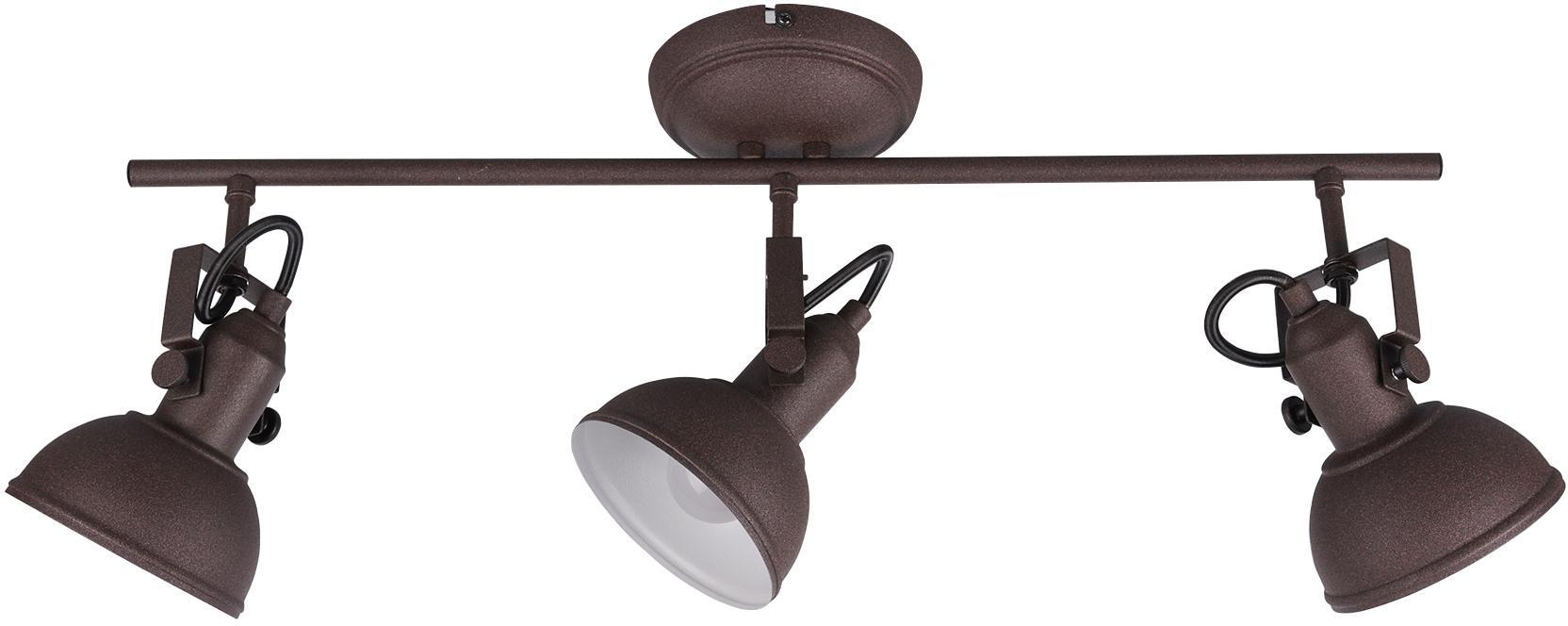 TRIO Leuchten Deckenleuchte GINA, E14, in rostfarbiger Gestaltung