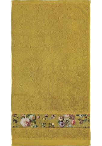 Essenza Handtücher »Fleur«, (2 St.), Bordüre im wunderschönen Blumenprint kaufen