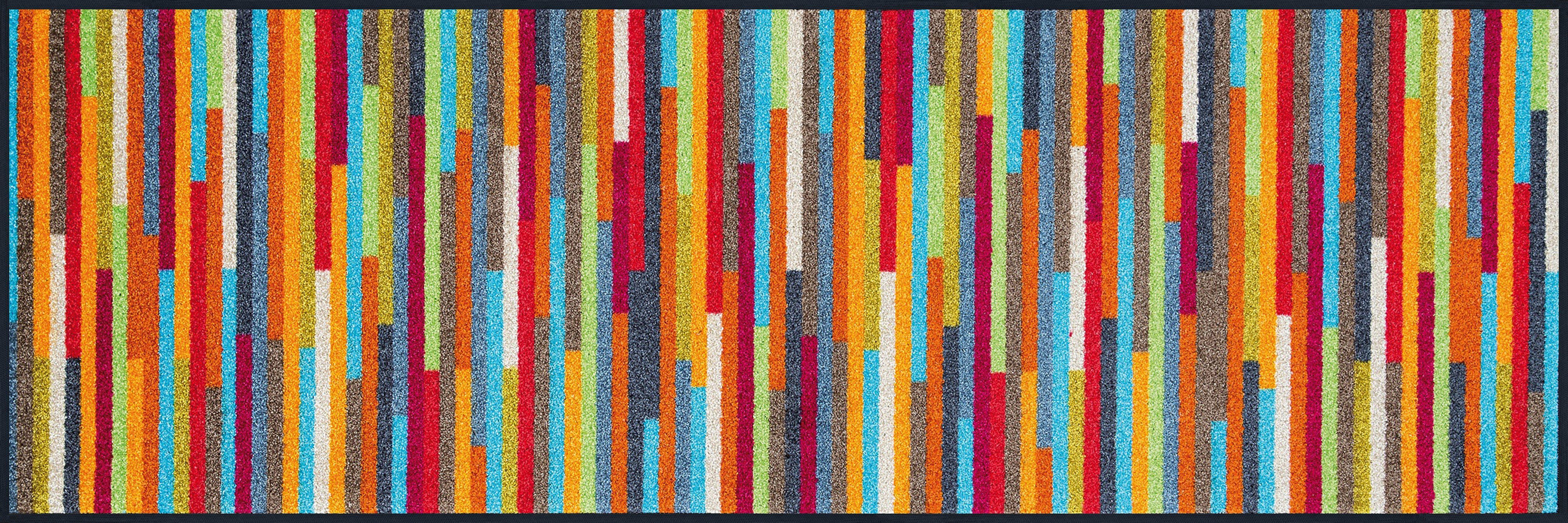 Läufer Mikado Stripes wash+dry by Kleen-Tex rechteckig Höhe 7 mm gedruckt