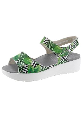 SOLIDUS Sandale »GRETA«, mit praktischem Wechselfußbett kaufen