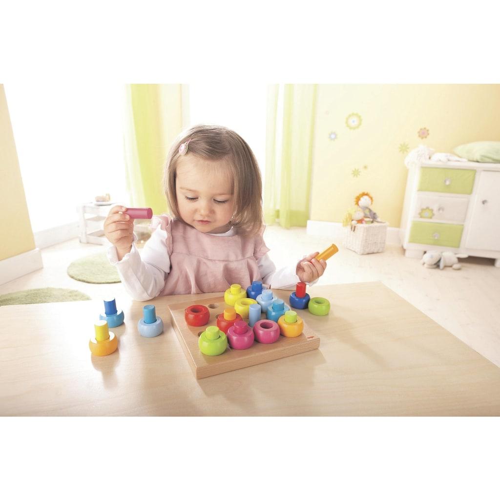 Haba Steckspielzeug »Farbkringel«, Made in Germany