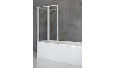 SCHULTE Komplett - Set: Badewannenfaltwand »Komfort«, 2 - teilig mit Seitenwand kaufen