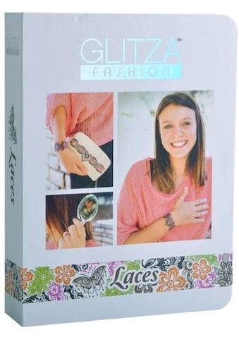 Knorrtoys® Kreativset »GLITZA FASHION Deluxe Set Laces«, (Set), Für alle Oberflächen... kaufen