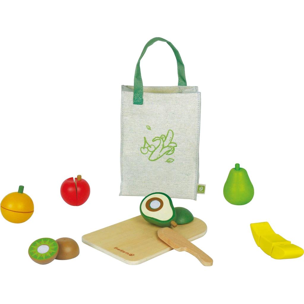 EverEarth® Spiellebensmittel »Obst-Set«, FSC®-Holz aus gewissenhaft bewirtschafteten Wäldern