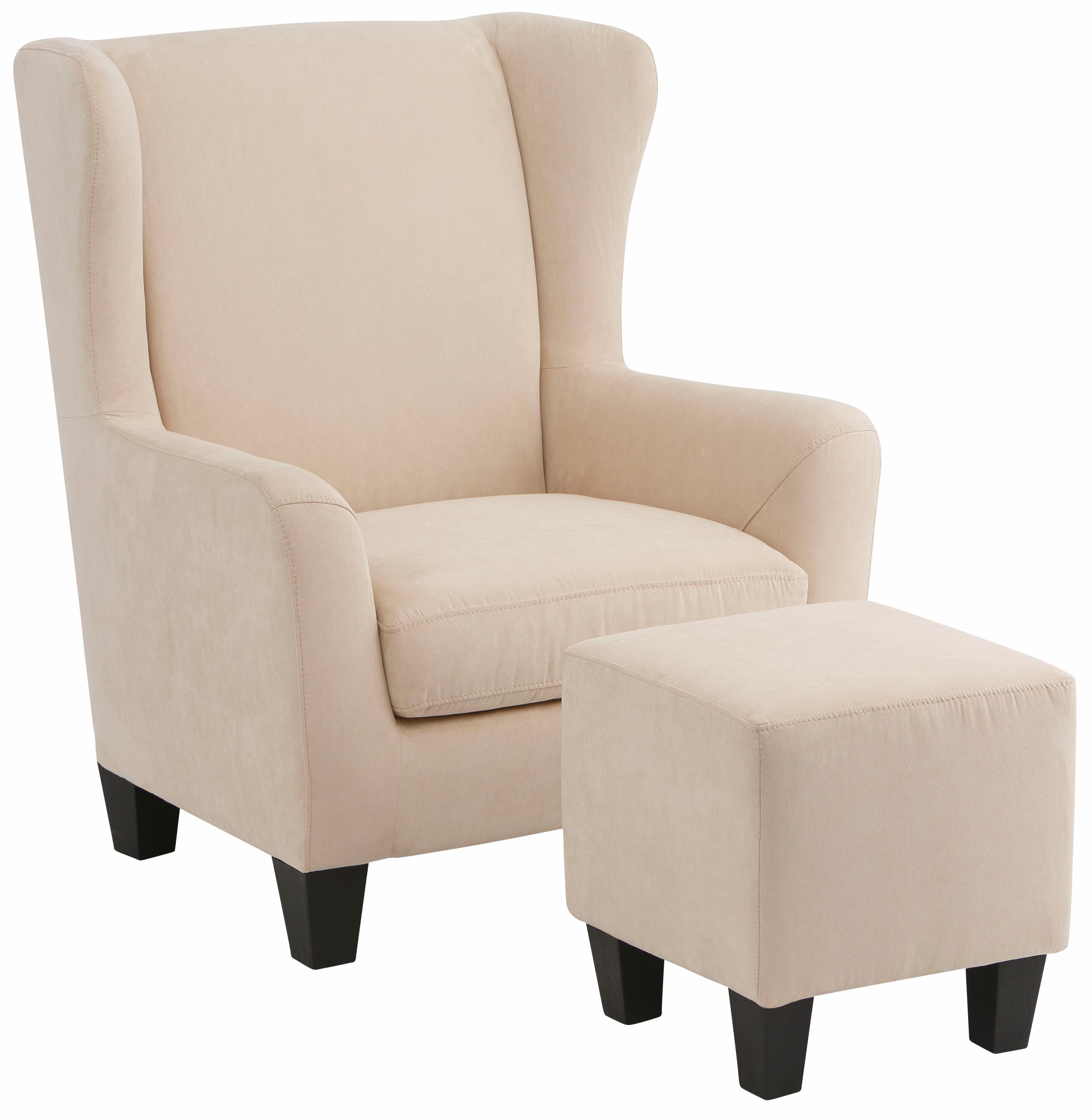 Home affaire Sessel Chilly (Set 2-tlg bestehend aus Sessel und Hocker)