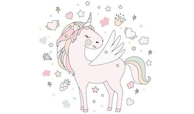 Wall-Art Wandtattoo »Einhorn Wandaufkleber Pony« kaufen
