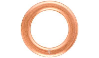 RAMSES Dichtring , DIN 7603 Form C 14 x 22 x 2,0 mm Kupfer verzinkt 100 Stück kaufen