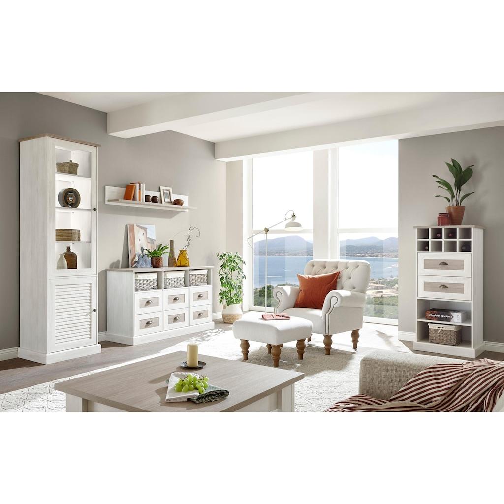 Home affaire Lowboard »Colorado«, im Landhausstil
