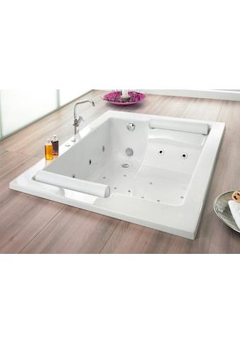 OTTOFOND Whirlpool-Badewanne »Maharaja«, Typ 8 Exklusiv chrom und zwei Nackenrollen kaufen