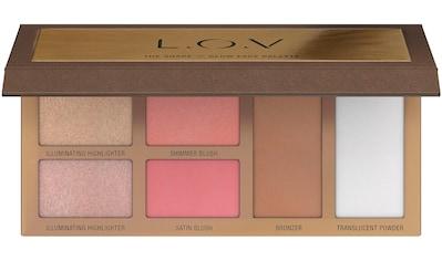 "L.O.V Highlighter - Palette ""THE SHAPE x GLOW face palette"" kaufen"