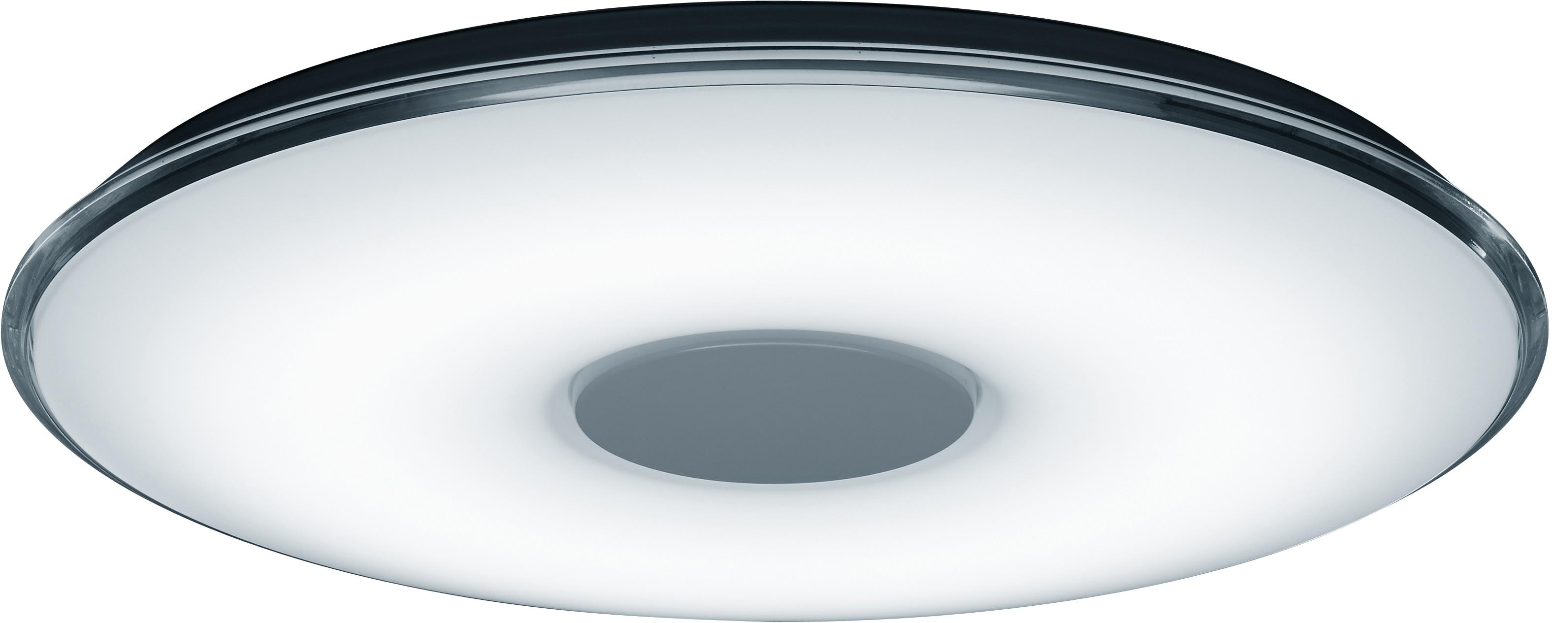TRIO Leuchten LED Deckenleuchte Tokyo, LED-Board, Kaltweiß-Neutralweiß-Tageslichtweiß-Warmweiß, Fernbedienung,integrierter Dimmer,Lichtfarbe stufenlos einstellbar,Nachtlicht,Memory Funktion