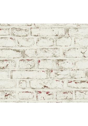 A.S. Création Vliestapete »Trendwall in Vintage Backstein Optik«, gemustert kaufen