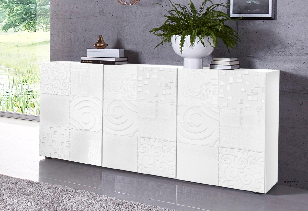 LC Miro Sideboard Breite 181 cm mit dekorativem Siebdruck