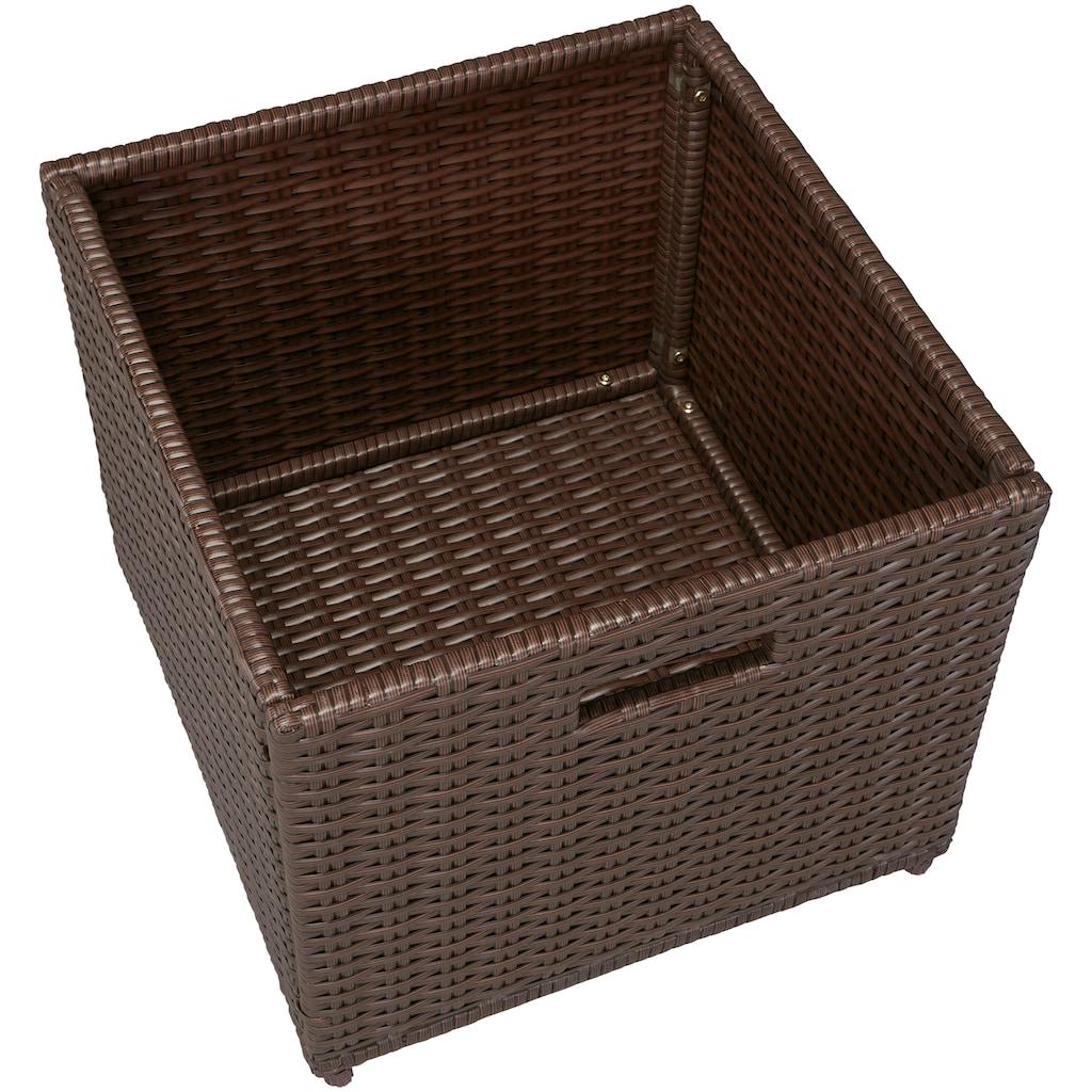 MERXX Auflagenbox, Polyrattan