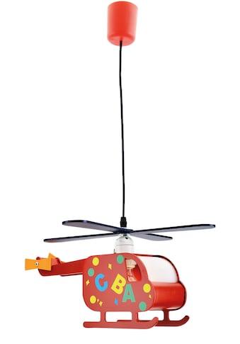 näve Pendelleuchte »Hubert«, E27, 1 St., Form eines Hubschraubers kaufen