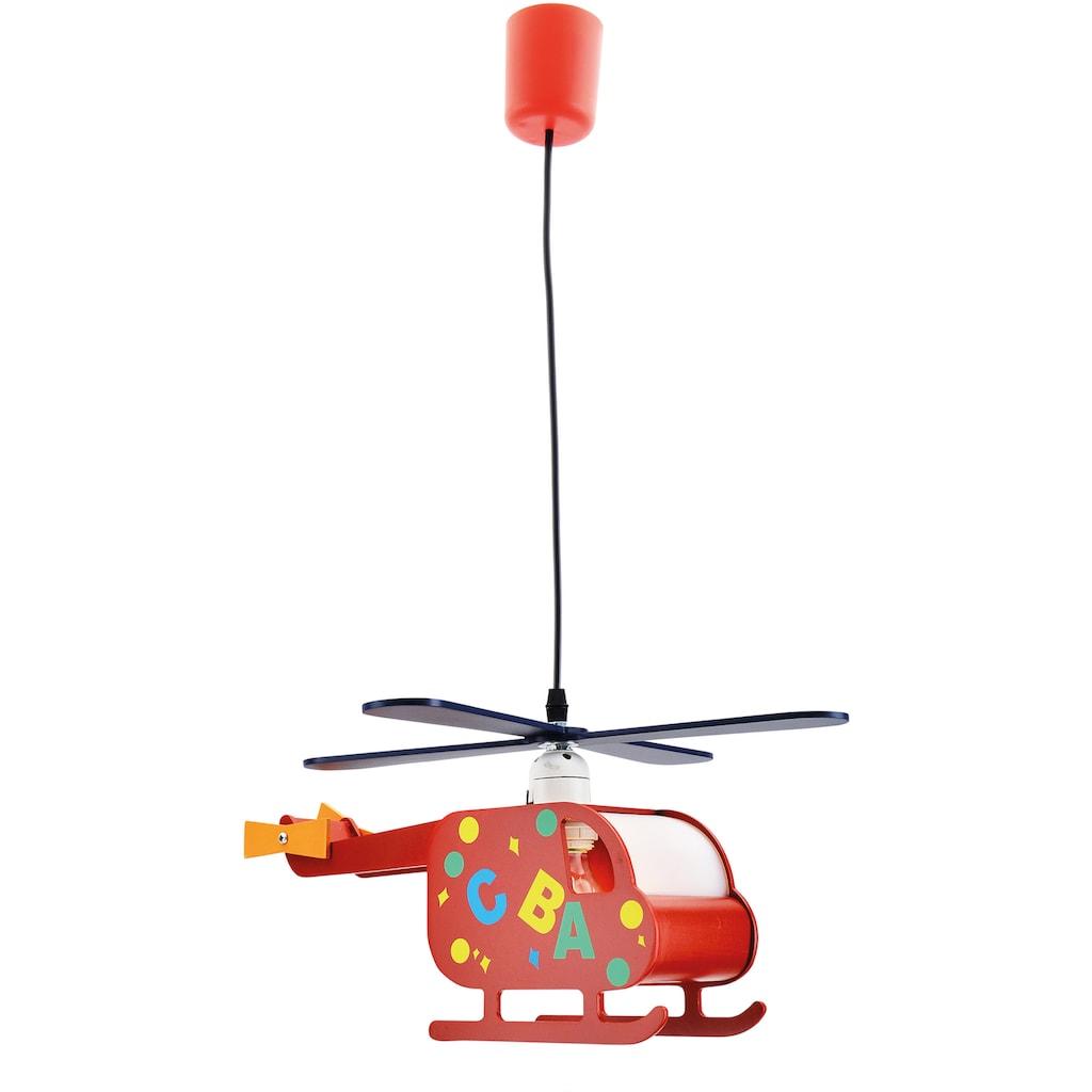 näve Pendelleuchte »Hubert«, E27, 1 St., Form eines Hubschraubers