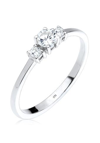 Elli Fingerring »Verlobungsring Zirkonia 925 Silber« kaufen