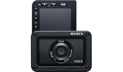 Sony Kompaktkamera »RX0 II (DSC-RX0M2G)«, ZEISS® Tessar T* 24-mm, Bluetooth-WLAN (Wi-Fi) kaufen