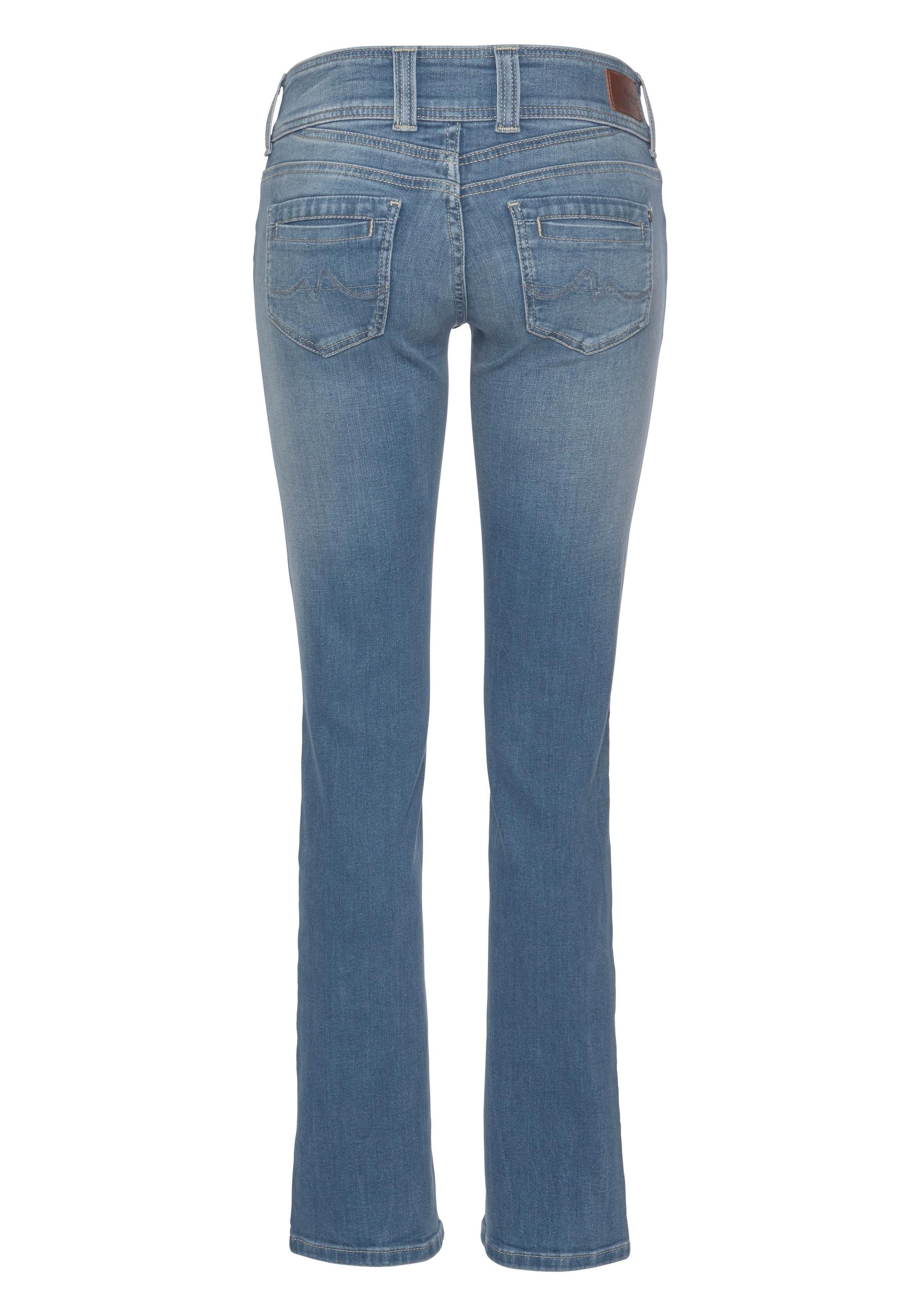 Pepe Jeans Straight Jeans »GEN« auf