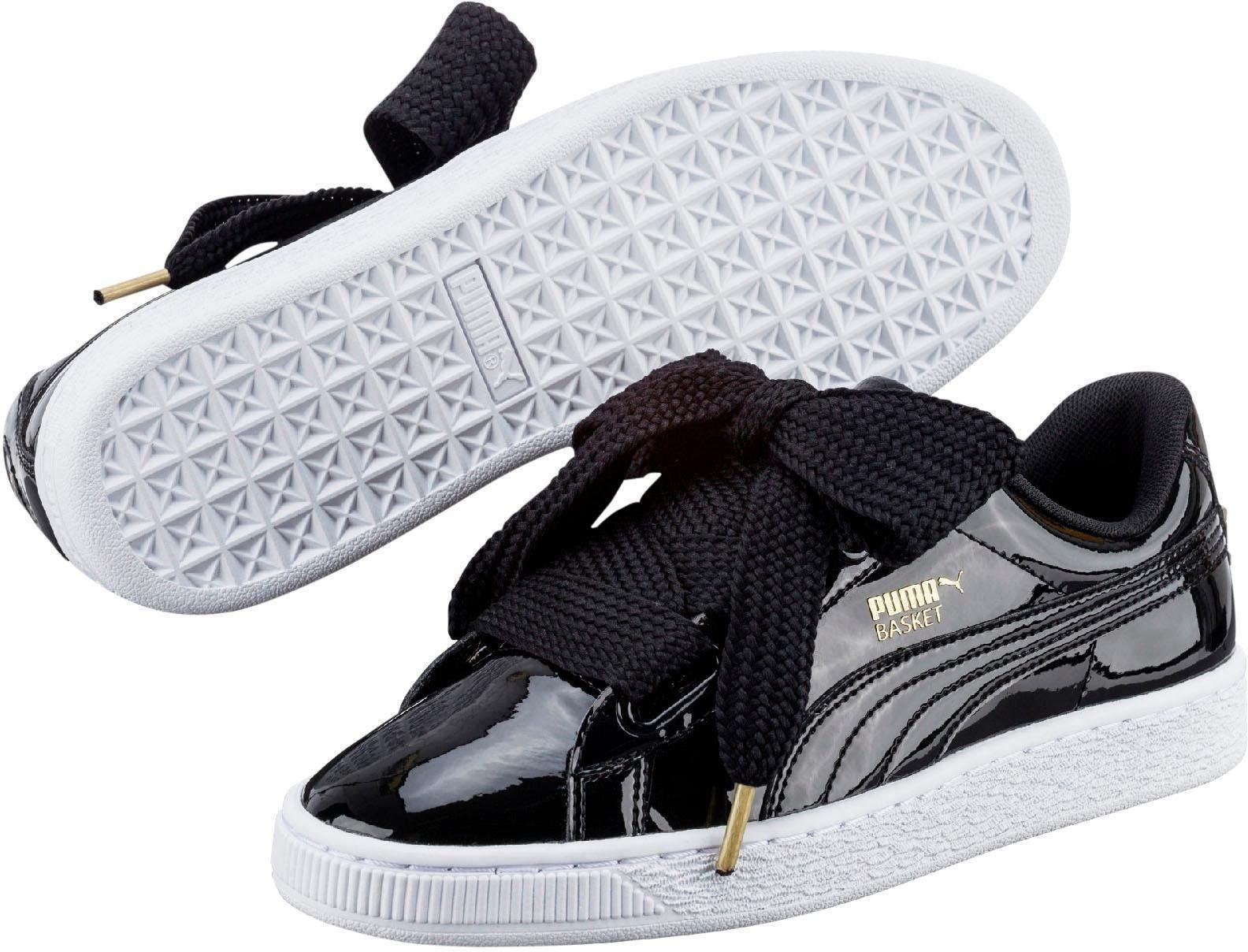 PUMA Sneaker »Basket Heart Patent« bestellen | BAUR