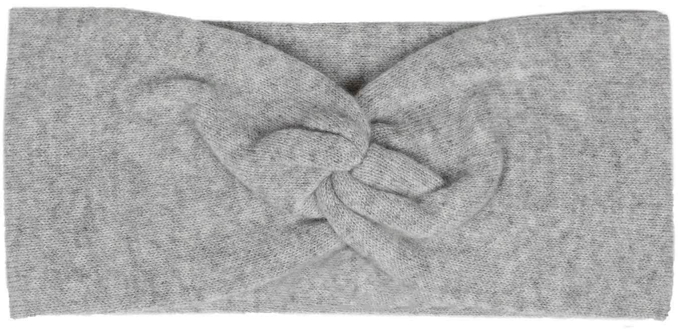 zwillingsherz -  Haarband, Feinstrick, 100% Kaschmir