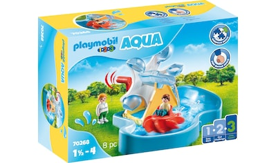 Playmobil® Konstruktions-Spielset »Wasserrad mit Karussell (70268), Playmobil 123 - Aqua«, ; Made in Germany kaufen