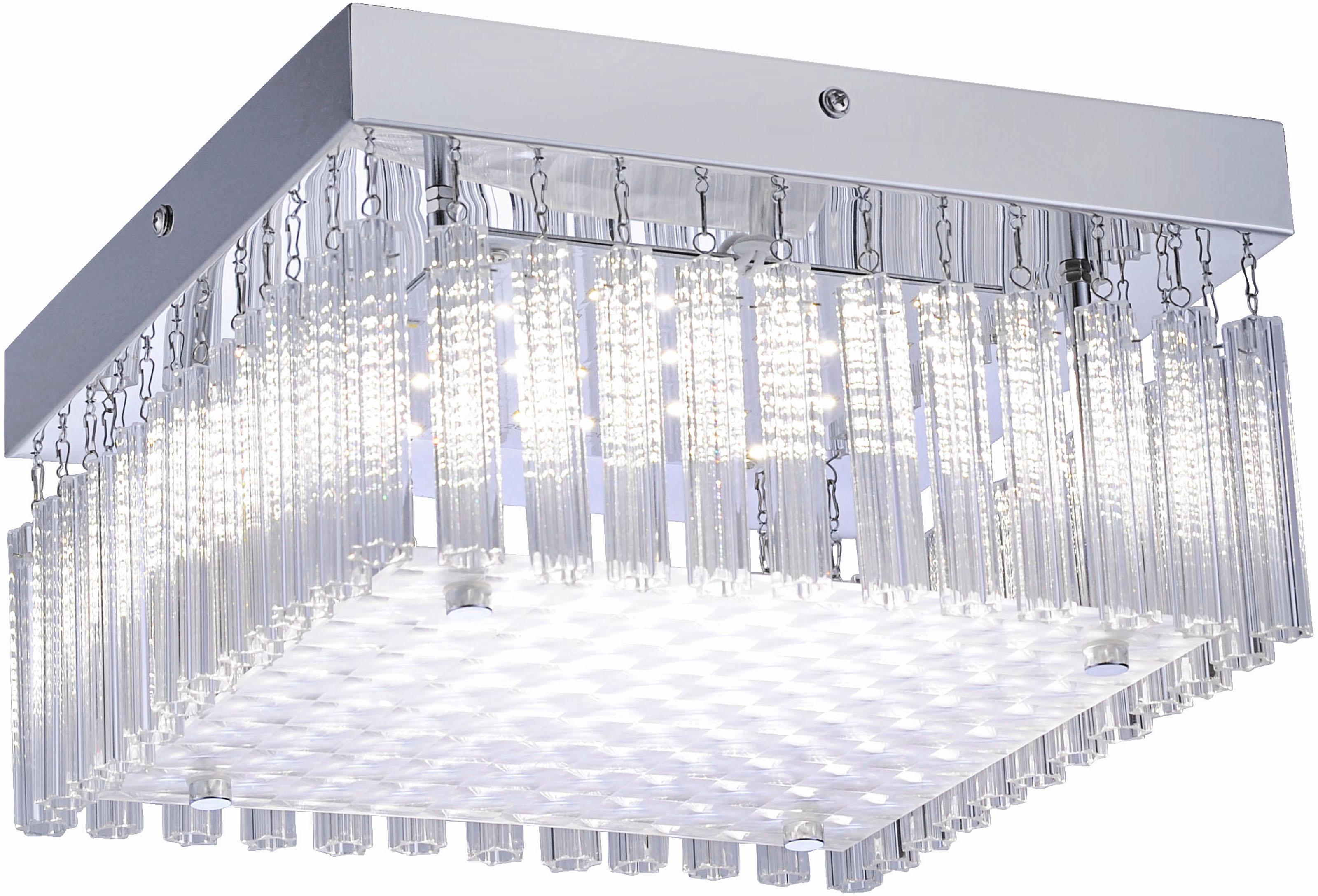 Leuchten Direkt LED Deckenleuchte, 25 x 25 cm, ...