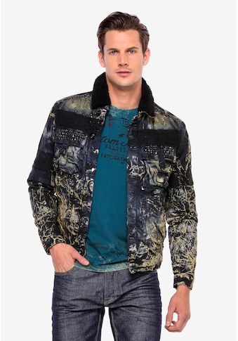 Cipo & Baxx Jeansjacke »Slick« kaufen