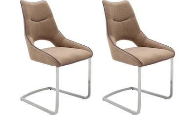 MCA furniture Freischwinger »Aldrina«, 2er-Set, Stuhl bis 120 Kg belastbar kaufen