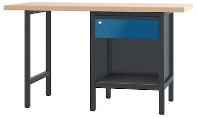 PADOR Werkbank »700.0.11 S 1/15 R«, B/T/H: 150x70x85,5 cm kaufen