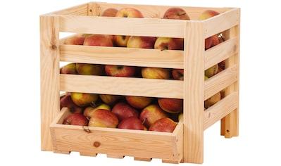 PROMADINO Obst -  und Kartoffelkiste , BxTxH: 40x36x33 cm kaufen