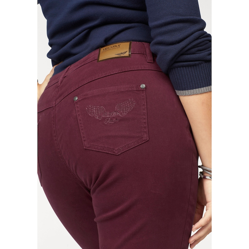 Arizona Gerade Jeans »Comfort-Fit«, High Waist