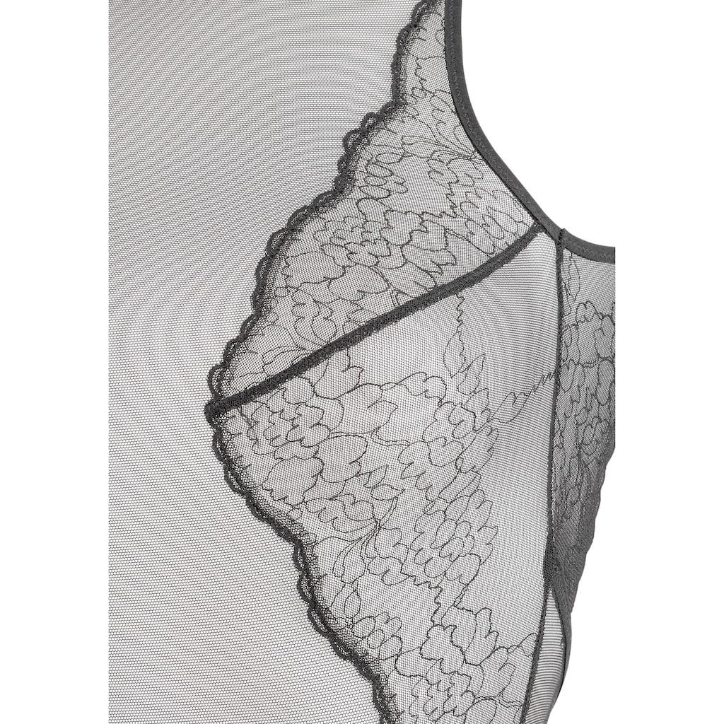 Triumph Body »Mirage Spotlight BS EX«, aus transparentem Tüll mit filigraner Stickerei