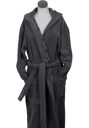 Marc O'Polo Home Unisex-Bademantel »Classic Hood«, (1 St.), Borte mit Markenlogo kaufen