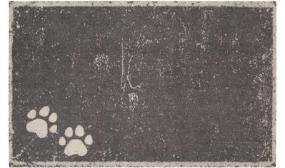 HANSE Home Fußmatte »Paws«, rechteckig, 4 mm Höhe, Fussabstreifer, Fussabtreter,... kaufen