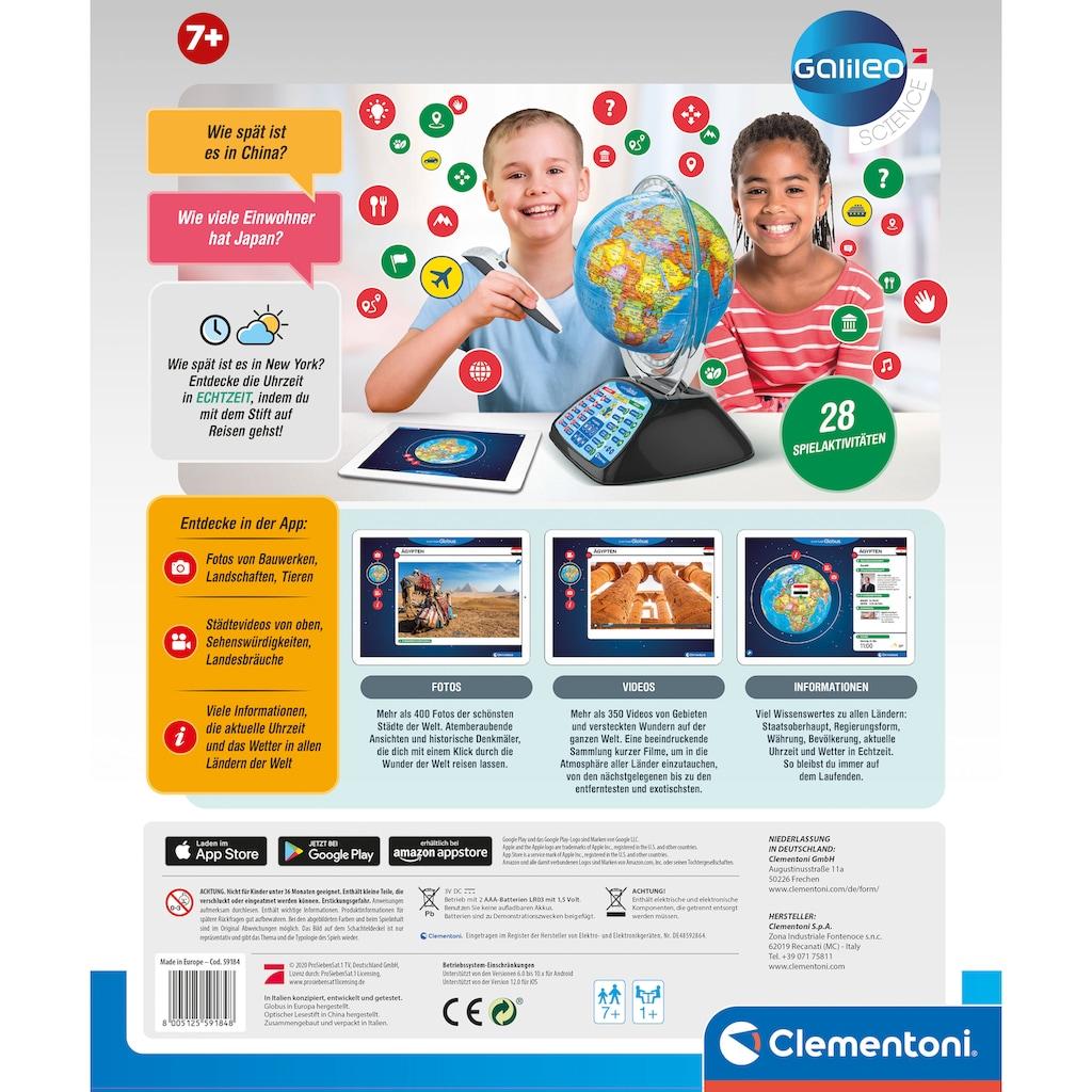 Clementoni® Globus »Galileo - Digitaler Globus«, mit App-Funktion; Made in Europe