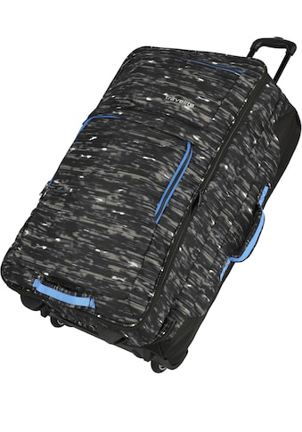 travelite Weichgepäck-Trolley »Basics, 78 cm, schwarz/blau« kaufen