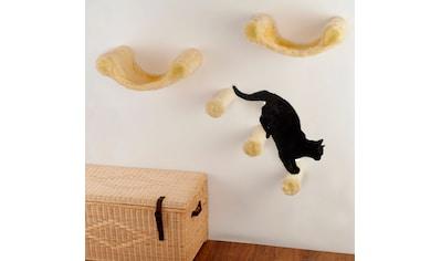 SILVIO DESIGN Katzen - Kletterwand »Finja«, 5 - tlg., BxLxH: 130x30x110 cm kaufen